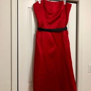 Alfred Angelo red cocktail dress